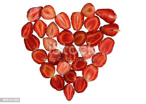 istock Strawberry heart. 966434380