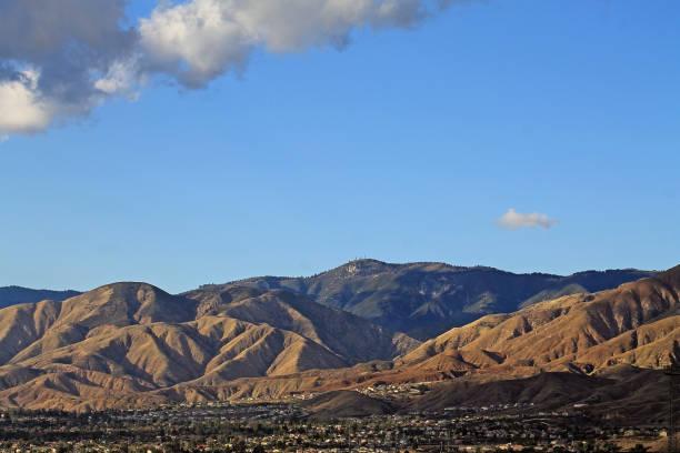 Strawberry Peak San Bernardino stock photo