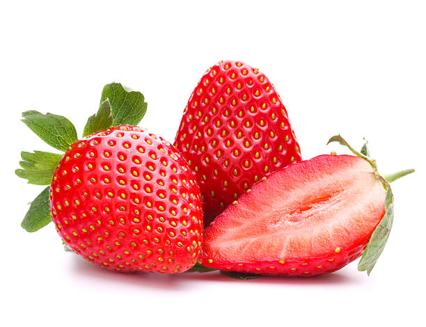Strawberry on Color Number Fruit