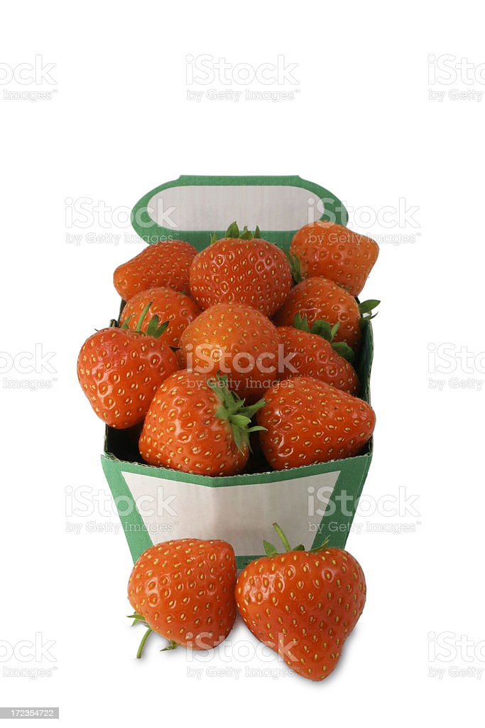 Strawberry Punnet royalty-free stock photo