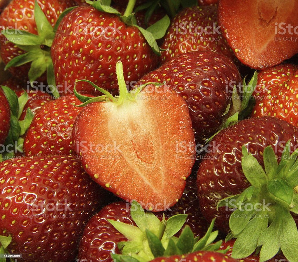 strawberry red royalty-free stock photo