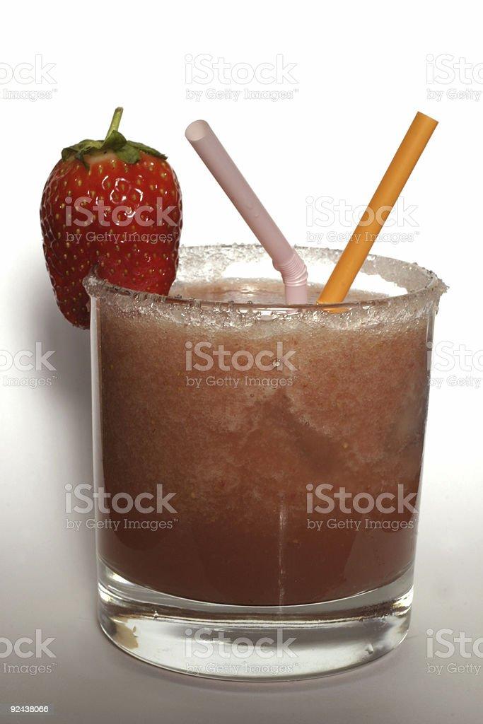 Strawberry smoothie stock photo