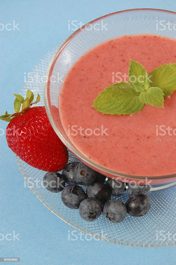 Strawberry Soup royalty-free stock photo
