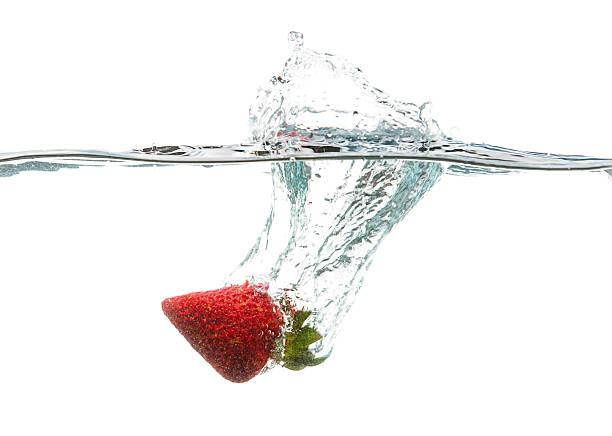 Erdbeer-Splash! – Foto