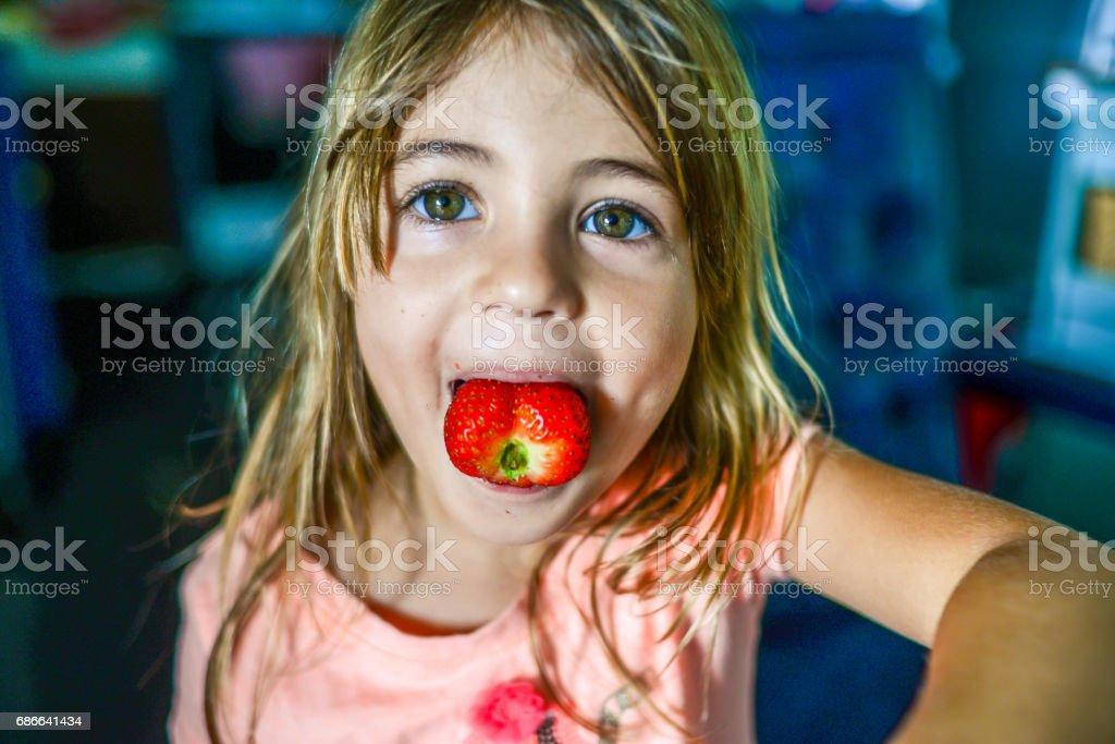 Strawberry Sweetheart royalty-free stock photo