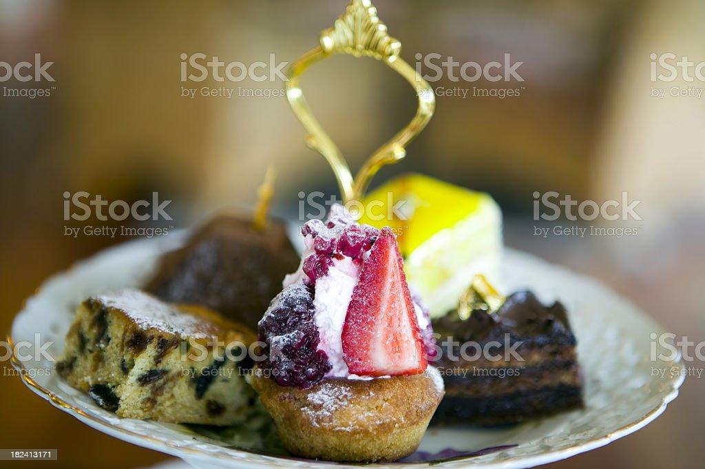 strawberry tart dessert royalty-free stock photo