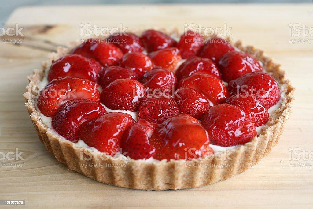 Strawberry Tart royalty-free stock photo