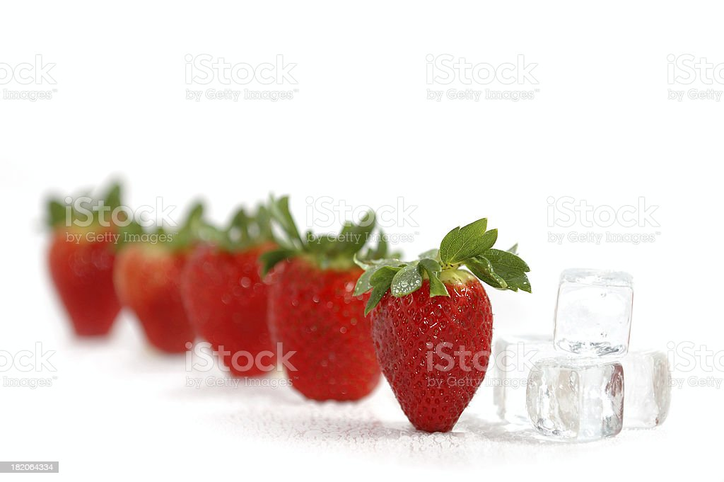 strawberrys royalty-free stock photo