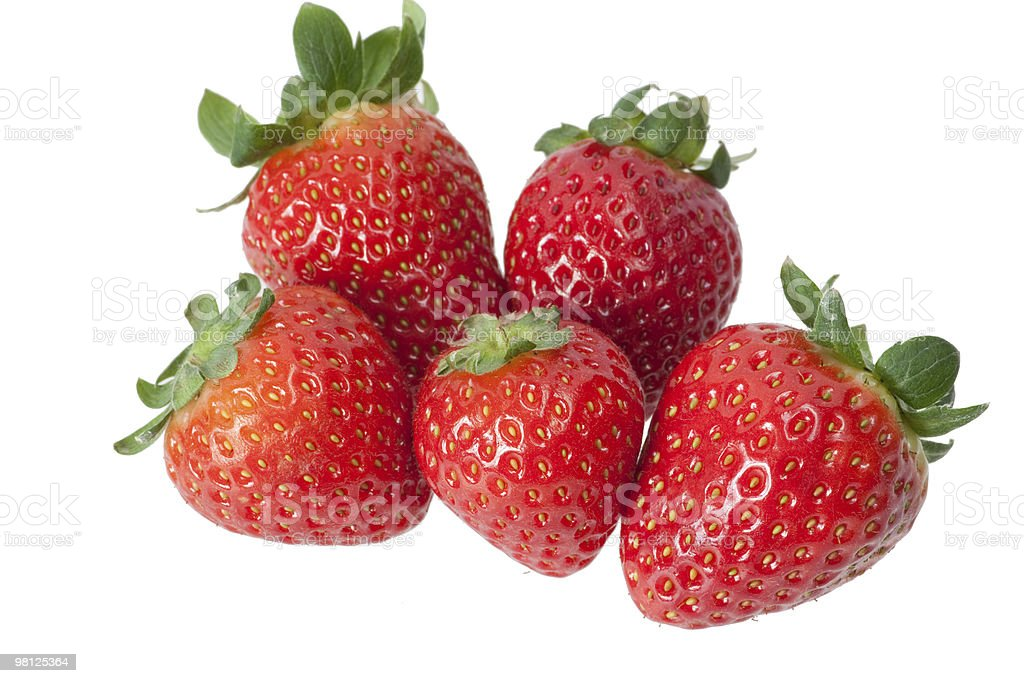 Strawberrys royalty-free 스톡 사진