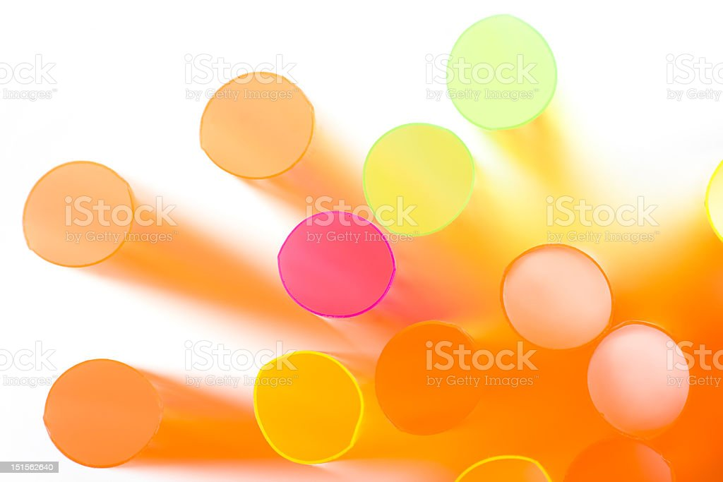 Straws royalty-free stock photo