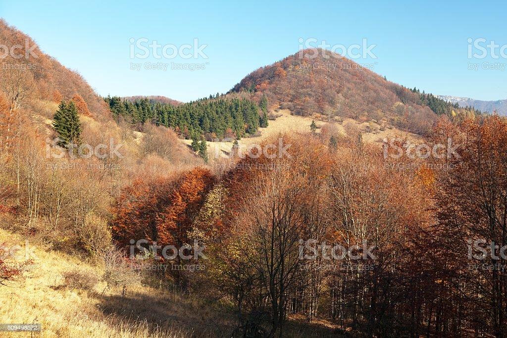 Strazovske vrchy, Carpathian mountains, Slovakia stock photo