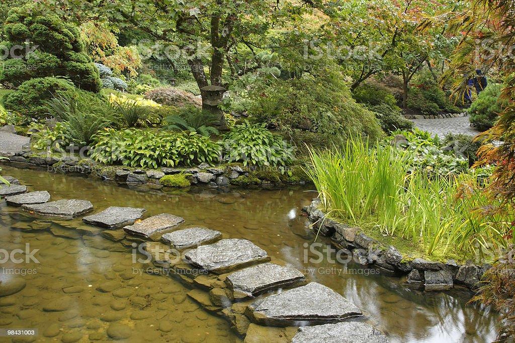 Flusso e percorso da pietre foto stock royalty-free