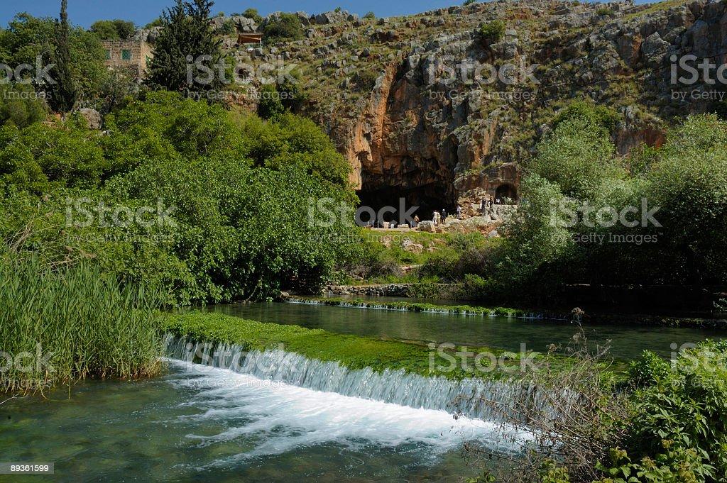 Potok i Wodospad zbiór zdjęć royalty-free