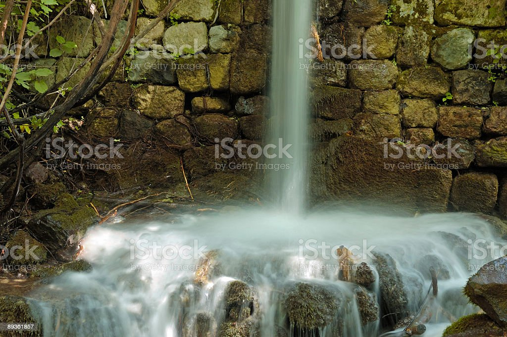 stream Hermon royaltyfri bildbanksbilder