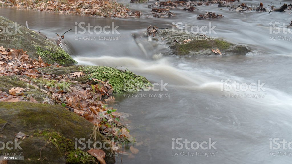 Stream Runner stock photo
