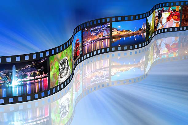 concept de médias en continu - Photo