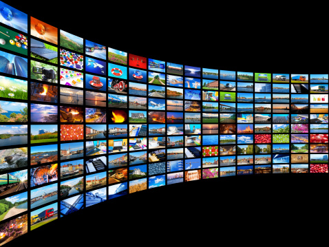 Streaming Media Concept Stock Photo - Download Image Now