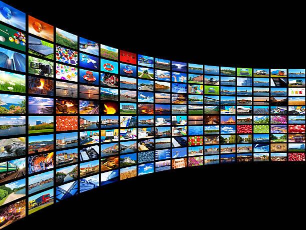 ストリーミングメディアコンセプト - 沢山の物 ストックフォトと画像