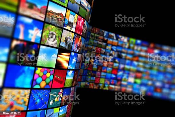 Streaming Mediatechnologie Und Multimediakonzept Stockfoto und mehr Bilder von Bandbreite