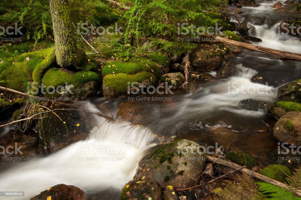 Streaming water royalty-free stock photo