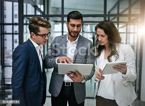 603310486istockphoto Streamlining business operations by staying in sync 629359184