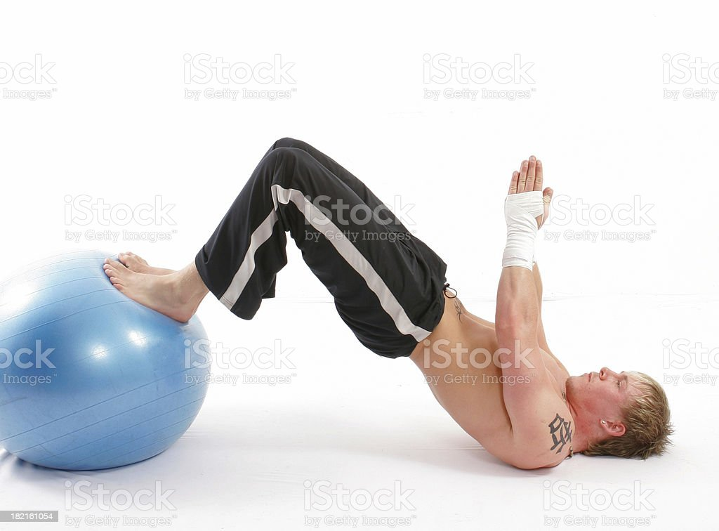 strech ball royalty-free stock photo