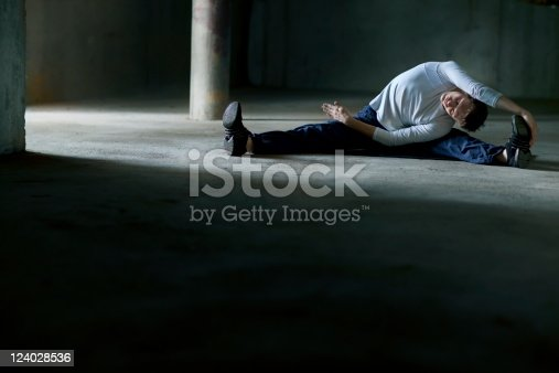 511849865 istock photo streching man on parking lot 124028536