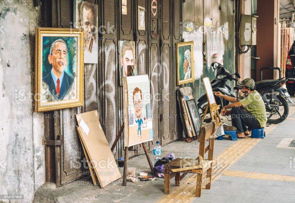 Artistes de rue à Jakarta, Indonésie - Photo