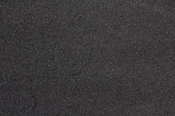 Straße Asphalt Textur. Rauer Straßenoberflächenhintergrund. Abstraktes Pflastermuster – Foto