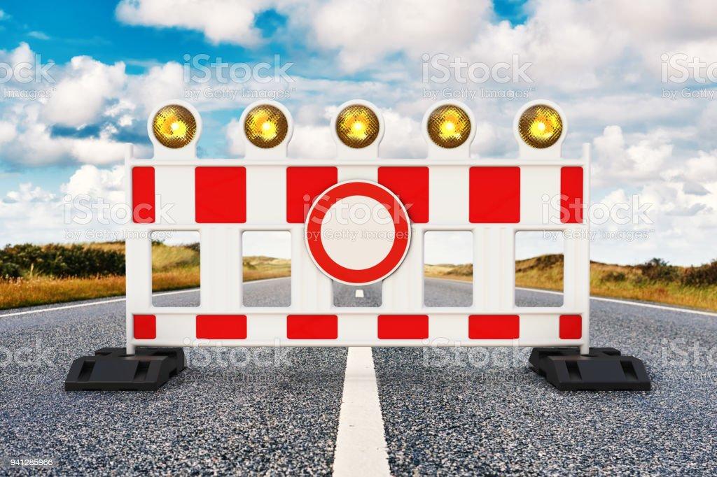 Rua barreira - foto de acervo