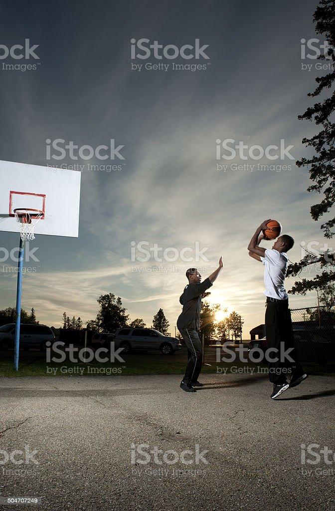 Street Basketball royalty-free stock photo