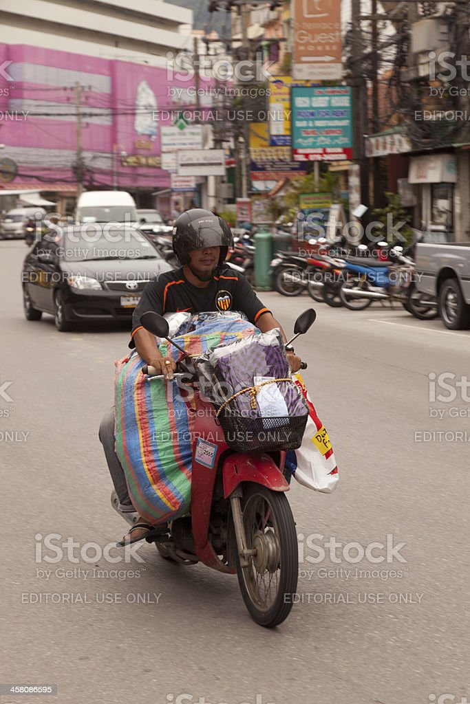 Street, Blurred Motion royalty-free stock photo