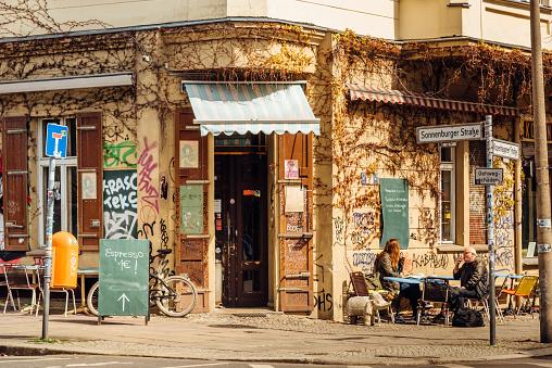 Street Cafe in Berlin, Prenzlauer Berg