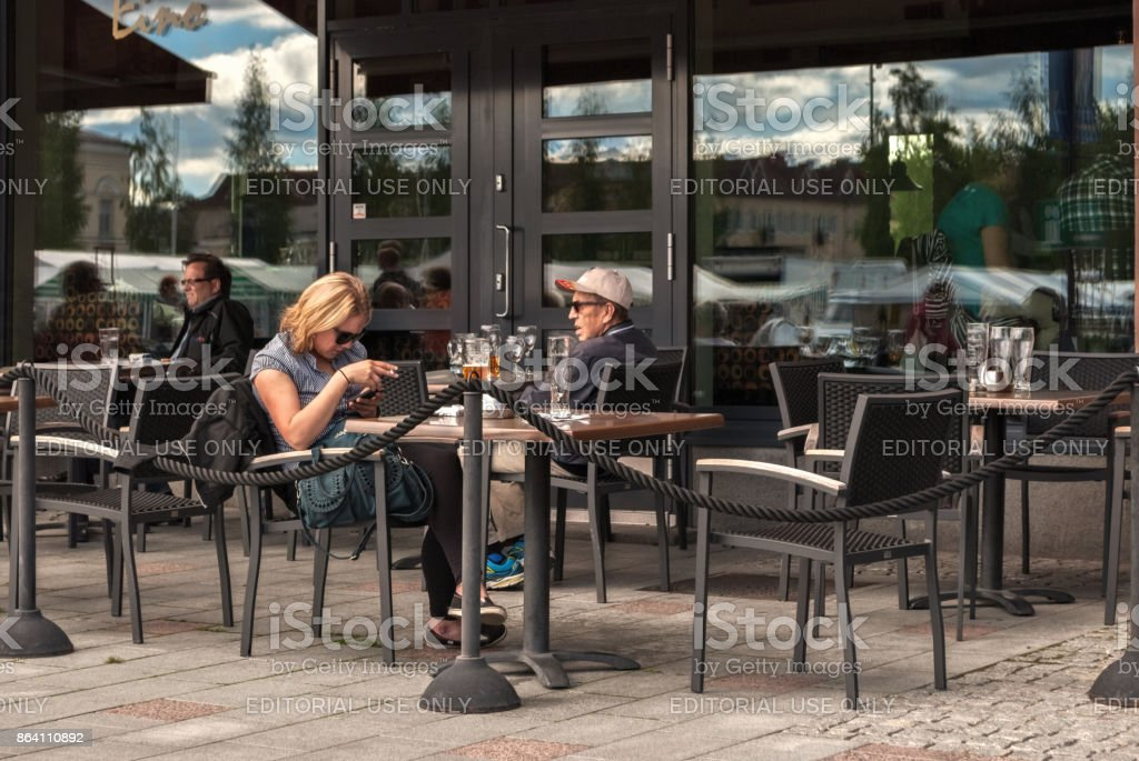 A street cafes. royalty-free stock photo