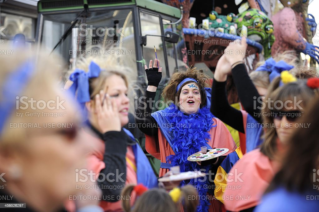 Street carnival parade in 's Hertogenbosch foto