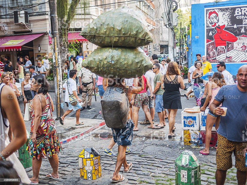Street carnival. stock photo