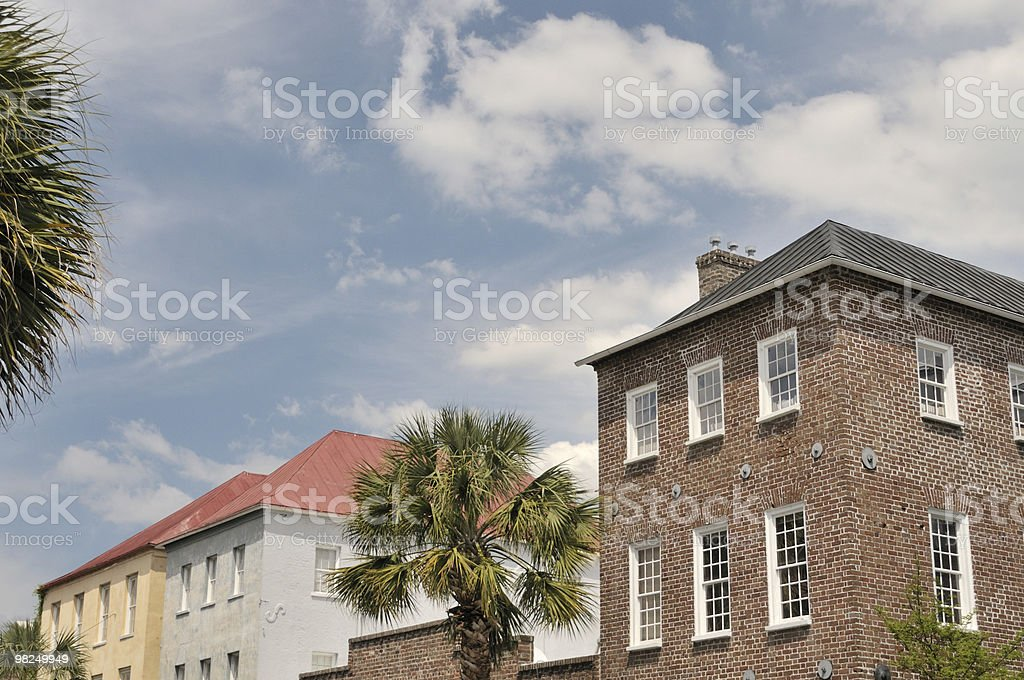 Street, Charleston, South Carolina royalty-free stock photo