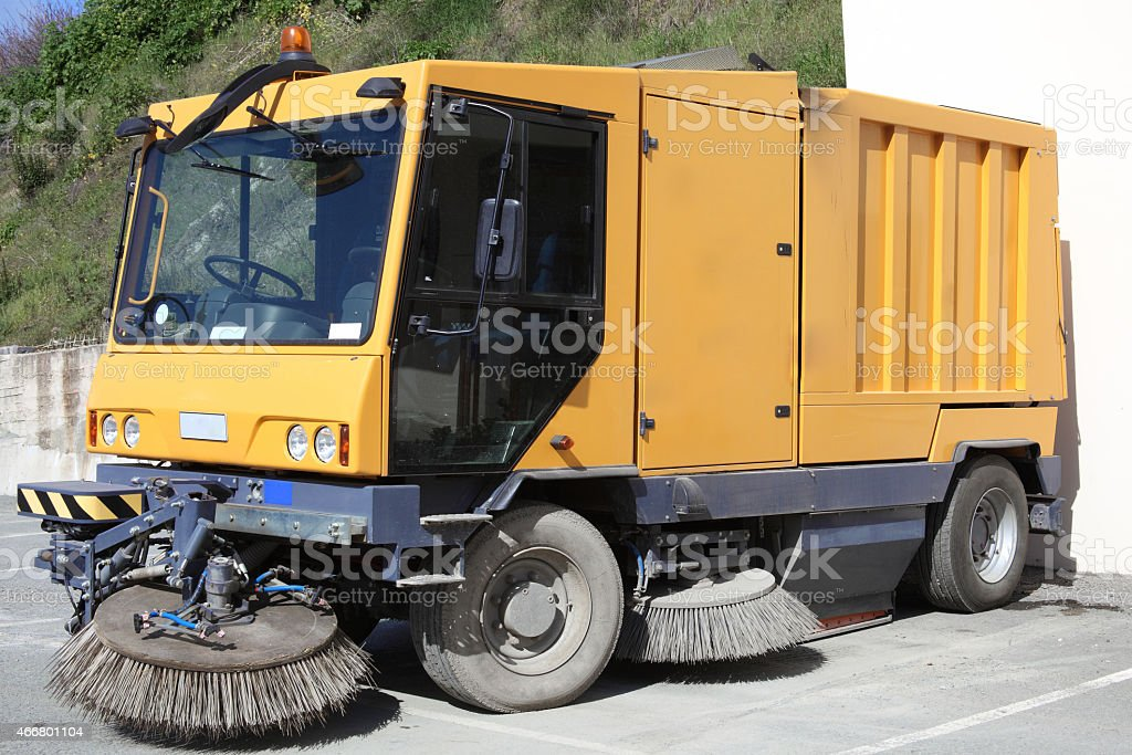 Street Cleaner Truck stock photo