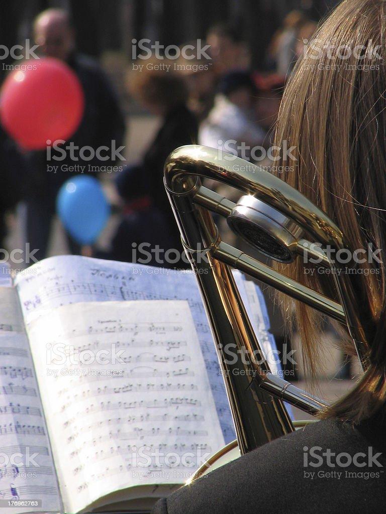 Street concert royalty-free stock photo