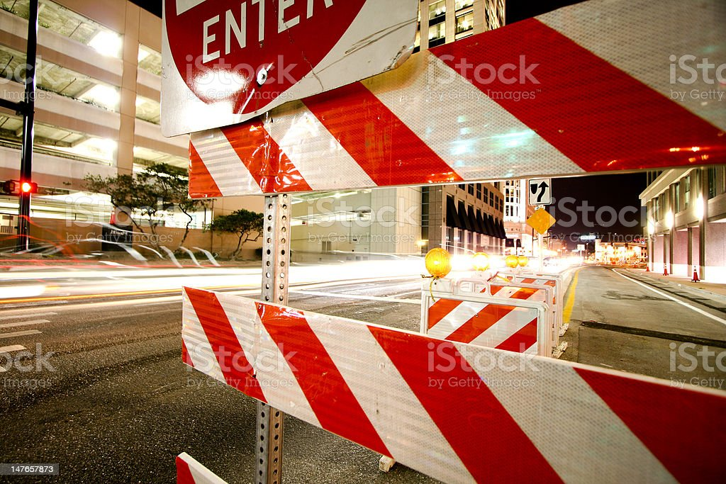 Street Construction stock photo