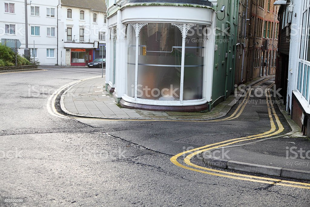 street corner stock photo