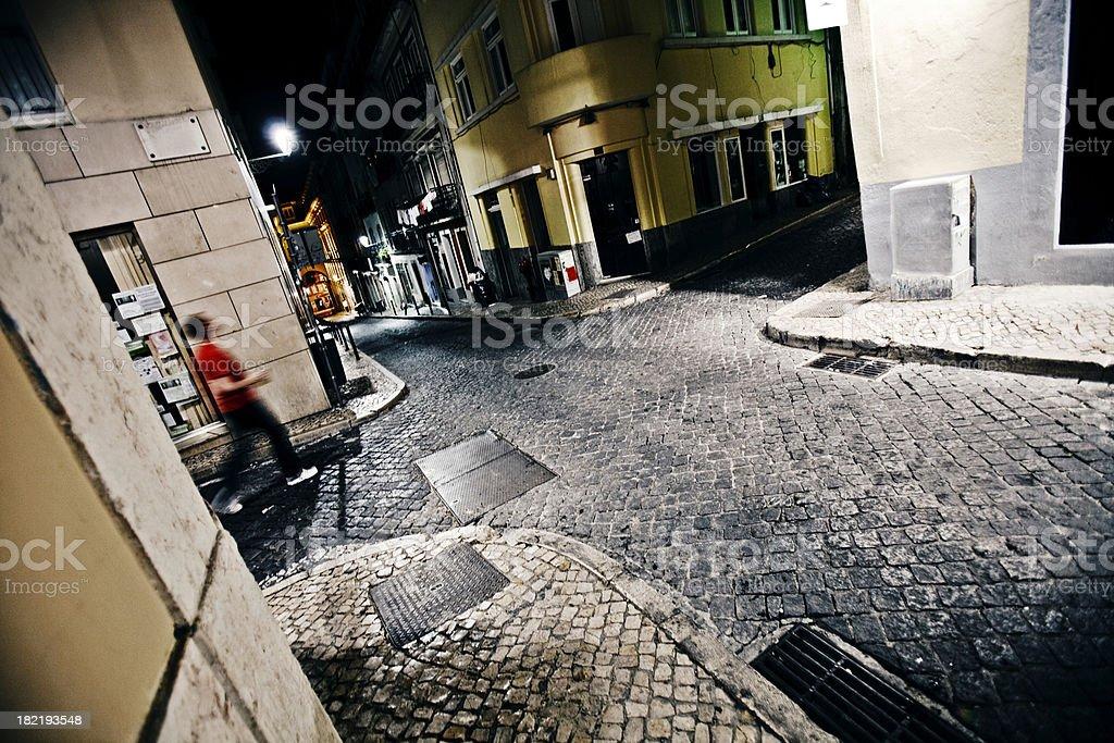 street corners stock photo