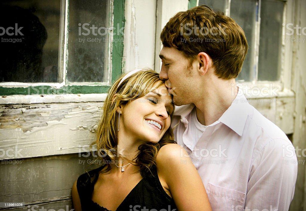street couple portraits royalty-free stock photo