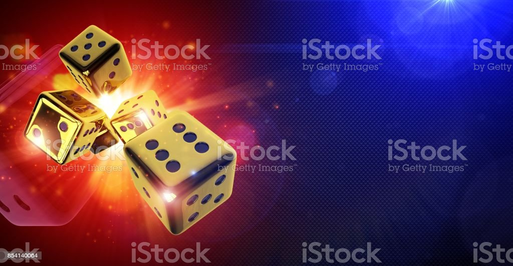 Street Craps Hot 3D Concept stock photo