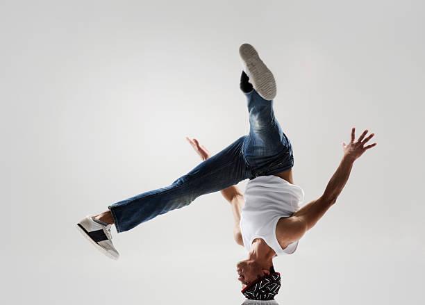 street dancing stock photo