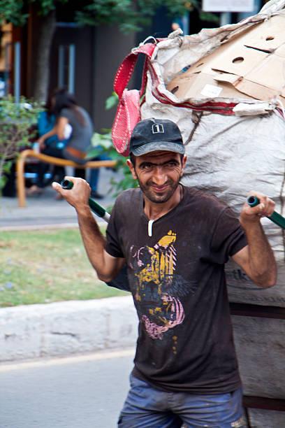 Street Lieferung von handtruck im Fethiye, Türkei – Foto