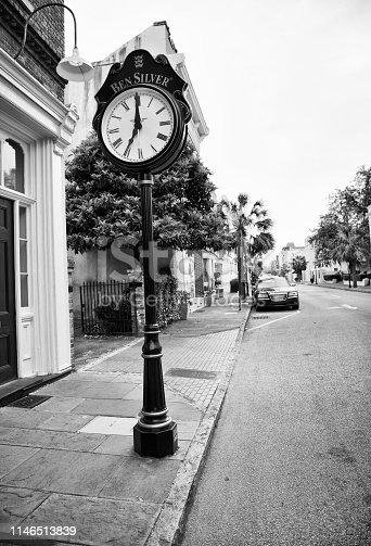Street, Downtown Charleston, South Carolina, USA.