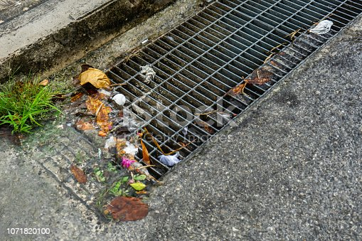 Street drainage and garbage