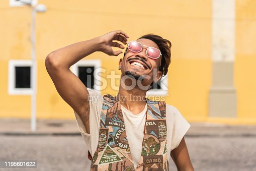 Hipster - Person, Latin American and Hispanic Ethnicity, Adolescence, Adult, Afro