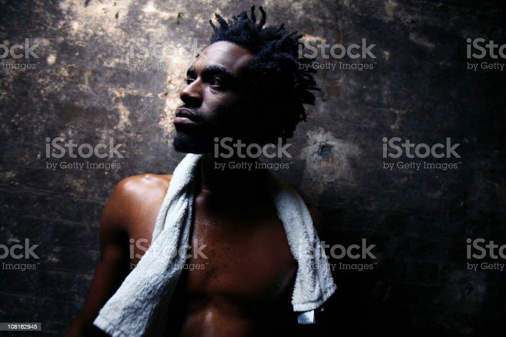 street fighter portrait royalty-free stock photo